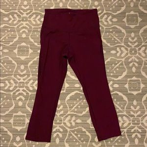 Old Navy high rise crops